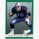 1991 Fleer Football #117 Steve Wisniewski - Los Angeles Raiders