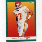 1991 Fleer Football #098 Kevin Porter - Kansas City Chiefs