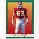 1991 Fleer Football #095 Bill Maas UER - Kansas City Chiefs