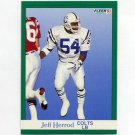 1991 Fleer Football #084 Jeff Herrod - Indianapolis Colts