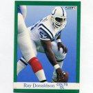 1991 Fleer Football #080 Ray Donaldson - Indianapolis Colts