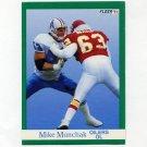 1991 Fleer Football #071 Mike Munchak - Houston Oilers