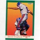 1991 Fleer Football #056 David Treadwell - Denver Broncos