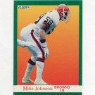 1991 Fleer Football #036 Mike Johnson - Cleveland Browns