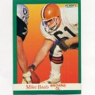 1991 Fleer Football #030 Mike Baab - Cleveland Browns
