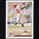 1992 Upper Deck Football #548 J.J. Birden - Kansas City Chiefs