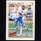 1992 Upper Deck Football #513 Warren Moon SBK - Houston Oilers
