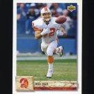 1992 Upper Deck Football #505 Ron Hall - Tampa Bay Buccaneers