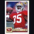 1992 Upper Deck Football #493 Dexter Carter - San Francisco 49ers