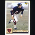 1992 Upper Deck Football #471 Tom Waddle - Chicago Bears