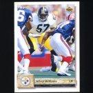 1992 Upper Deck Football #467 Jerrol Williams - Pittsburgh Steelers