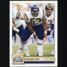 1992 Upper Deck Football #463 Courtney Hall - San Diego Chargers