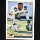1992 Upper Deck Football #454 Wes Hopkins - Philadelphia Eagles