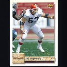 1992 Upper Deck Football #453 Jay Hilgenberg - Cleveland Browns