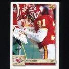1992 Upper Deck Football #449 Kevin Ross - Kansas City Chiefs