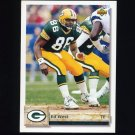 1992 Upper Deck Football #446 Ed West - Green Bay Packers