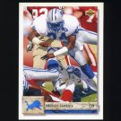 1992 Upper Deck Football #444 Melvin Jenkins - Detroit Lions