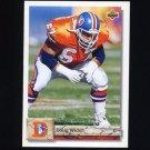 1992 Upper Deck Football #441 Doug Widell - Denver Broncos