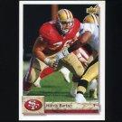 1992 Upper Deck Football #430 Harris Barton - San Francisco 49ers