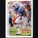1992 Upper Deck Football #406 Quentin Coryatt - Indianapolis Colts