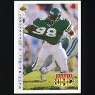 1992 Upper Deck Football #402 Kurt Barber - New York Jets