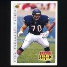 1992 Upper Deck Football #401 Troy Auzenne RC - Chicago Bears