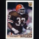 1992 Upper Deck Football #355 Leroy Hoard MVP - Cleveland Browns