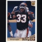 1992 Upper Deck Football #352 David Fulcher MVP - Cincinnati Bengals