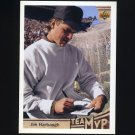 1992 Upper Deck Football #351 Jim Harbaugh MVP - Chicago Bears