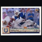 1992 Upper Deck Football #347 Jeff Herrod - Indianapolis Colts