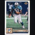 1992 Upper Deck Football #343 Bryan Cox - Miami Dolphins