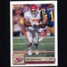 1992 Upper Deck Football #337 Dan Saleaumua - Kansas City Chiefs