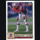 1992 Upper Deck Football #336 Maurice Hurst - New England Patriots