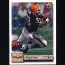 1992 Upper Deck Football #331 Leroy Hoard - Cleveland Browns