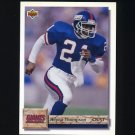 1992 Upper Deck Football #329 Reyna Thompson - New York Giants