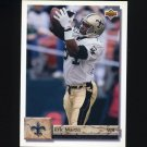 1992 Upper Deck Football #322 Eric Martin - New Orleans Saints