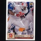 1992 Upper Deck Football #320 Robert Wilson - Tampa Bay Buccaneers