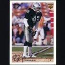1992 Upper Deck Football #307 Ronnie Lott SL - Los Angeles Raiders