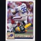 1992 Upper Deck Football #289 Carwell Gardner - Buffalo Bills