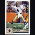 1992 Upper Deck Football #239 Steve Walsh - New Orleans Saints