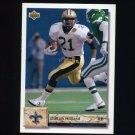 1992 Upper Deck Football #234 Dalton Hilliard - New Orleans Saints