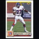 1992 Upper Deck Football #227 Simon Fletcher - Denver Broncos
