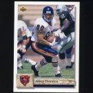1992 Upper Deck Football #223 James Thornton - Chicago Bears
