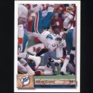1992 Upper Deck Football #192 Aaron Craver - Miami Dolphins