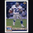 1992 Upper Deck Football #178 John L. Williams - Seattle Seahawks