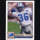 1992 Upper Deck Football #177 Bennie Blades - Detroit Lions