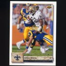 1992 Upper Deck Football #174 Gene Atkins - New Orleans Saints