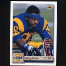 1992 Upper Deck Football #138 Henry Ellard - Los Angeles Rams