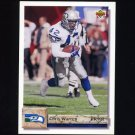 1992 Upper Deck Football #114 Chris Warren - Seattle Seahawks