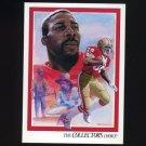 1992 Upper Deck Football #087 John Taylor TC - San Francisco 49ers